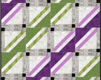 Seesaw from Plum Tree Quilts Pattern - Create your own design by Turning the Blocks - 3 sizes