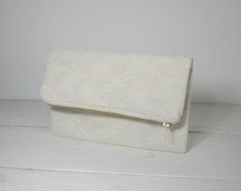 Delicate Lace Bridal Clutch, Bridesmaid Gift, Wedding clutch