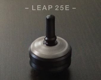LEAP 25E GRAY – Spin Top with integrated rubber grip and ceramic tip
