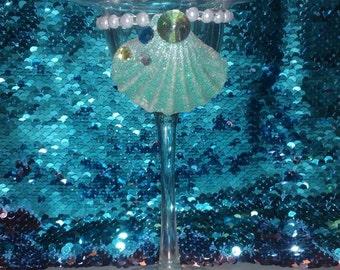 Margarita Mermaid Glass- Mergarita Glass