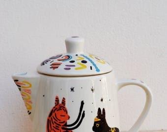 Tea pot (one of a kind piece)