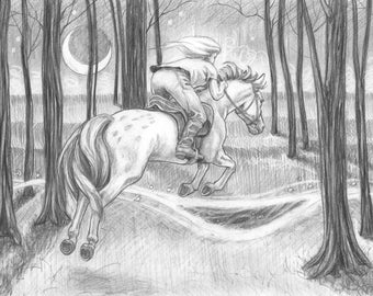 Riding into a Faerie Ring