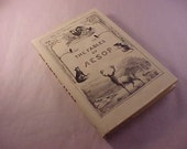 1995 The Fables of Aesop Hardcover Book with Dust Cover Mint Condition
