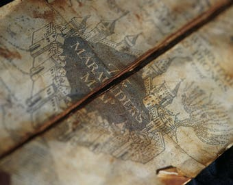 Marauder's Map Harry Poter map Hogwarts map Harry Poter Accesories