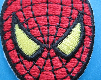 Iron-on Embroidered Patch Spiderman 1.9 inch
