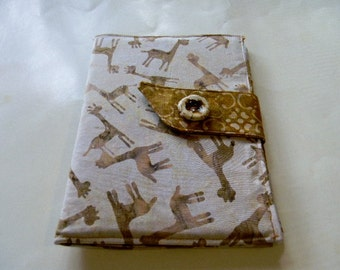 Giraffes Batik Kindle Touch/Paperwhite Cover