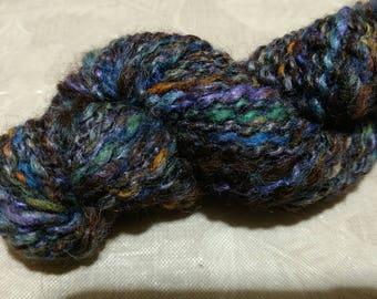Alpaca Yarn - Spiral Thread Plied - Hand Spun
