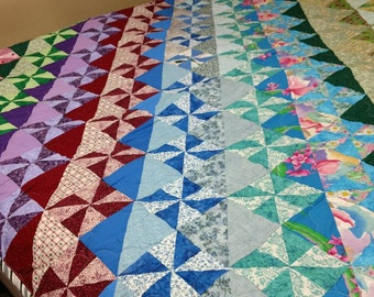 Multi-Color Queen Quilt