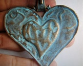 Heart shaped Jewelry finding