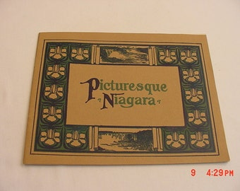 Vintage Picturesque Niagara Black & White Picture Booklet  17 - 294