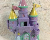 Trendmasters Star Castle Princess Cloud Castle 1994 Glittery Sparkly Toy Dollhouse 90s Kids Toys No Dolls Missing Pieces