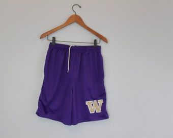 Vintage basketball University of Washington Huskies Basketball shorts GO DAWGS