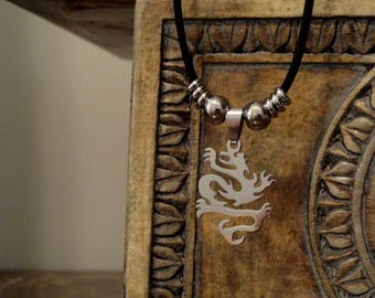 Stainless Steel Dragon Necklace