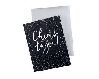 Cheers To You! Foil Card