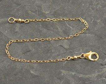 """Gold Filled - 7"""" Necklace Extender"""