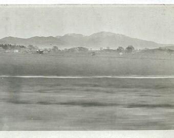 Vintage 1910's Real Photo Postcard of Rural Farm Scene