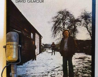 "ON SALE David Gilmour (Pink Floyd) Vinyl Record Album 1970s British Blues Classic Rock and Roll Guitar Hero LP ""David Gilmour""(Orig 1978 Col"