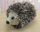 Crochet Hedgehog - Hedgie Toy -  Crocheted Animal - Hedgehog Plushie - Childrens Toys - Woodland Animals - Hedgehog Stuffed Animal - Plushie