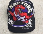 The Game BIG LOGO 1994 Inuagural Year Toronto Raptors Snapback NBA
