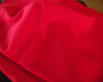 Red Poly Cotton Fabric  item 60
