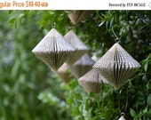 Christmas SALE Spinner small - Christmas Decoration: folded Book Art hanging Ornament