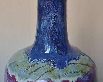 Stoneware Porcelain Blend Handmade Olive Oil Bottle Olive Oil Dispenser