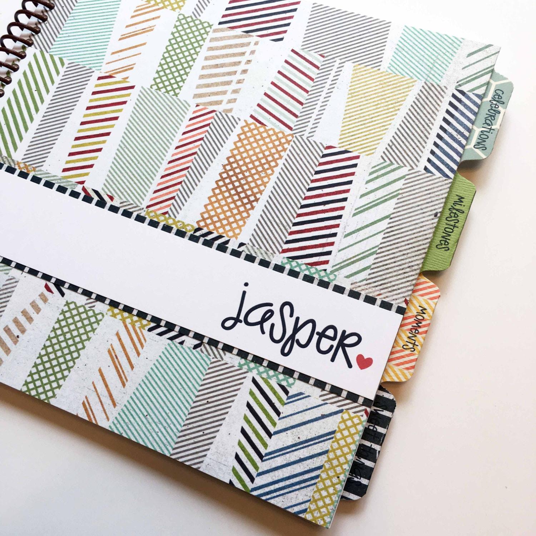 How to scrapbook baby book -  29 50