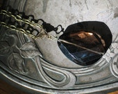RESERVED fo Nikki -Smokey Quartz Pendant Necklace