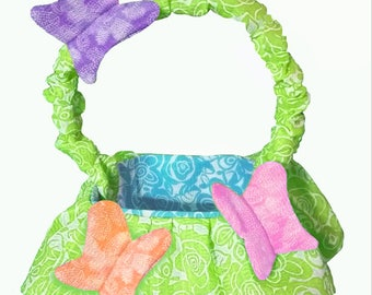 Easy Butterfly Basket PATTERN tutorial