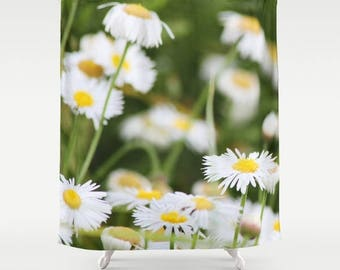 Daisy shower curtain | Etsy
