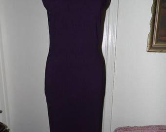 25% Off Sale Vintage Evolution Purple Glitter Evening dress/Sz 2