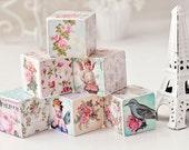 Shabby Chic Decorative Blocks