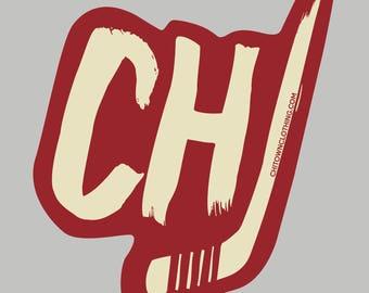 Chicago Hockey Blackhawks Sticker
