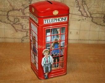 Churchill's Telephone Kiosk Tin - item #2410