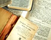 European language text papers - VINTAGE PAPER PACK - German, Spanish, Italian, French, Greek, Latin