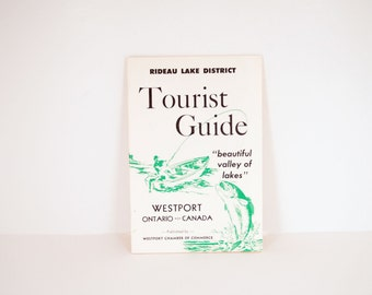 Rideau Lake District Tourist Guide 1960s