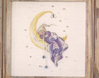 Crescent Dreams by Nora Corbett - Counted Cross-Stitch Pattern - CCS003