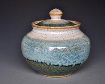 PotteryJar Ceramic Stoneware Jar B