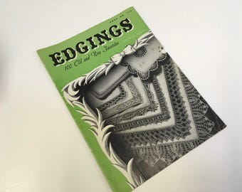Edgings Lace Pattern Book 100 old and new favorites. Book No 218