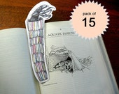 Bookworm 15-pack - caddisfly bookmark, RESERVED