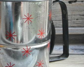 Vintage Flour Sifter, Vintage Androck Metal Sifter
