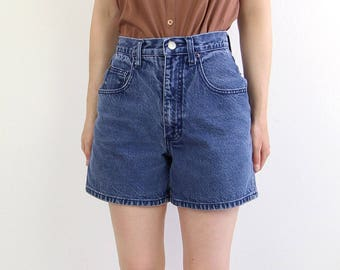 VINTAGE Denim Shorts 1990s Blue Jean Shorts