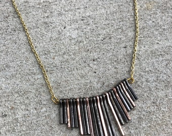 Mixed Metals Short Necklace