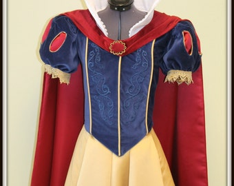 Ladies Snow White Princess Costume, Adult Princess Costume, Custom Made, Performance Costume, Cosplay