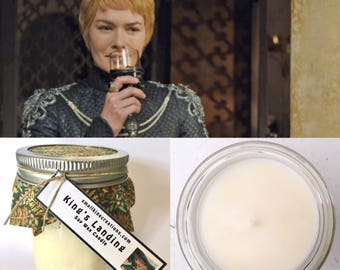 Game of Thrones King's Landing Cersei Scented Hand Poured Natural Soy Wax Candle - 8oz jar