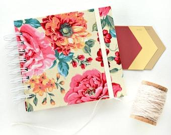 Fabric album, AMELIE IN YELLOW Instagram album, scrapbooking album, brag book