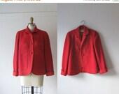 SALE vintage 1950s jacket / 50s jacket / Cherry Pie