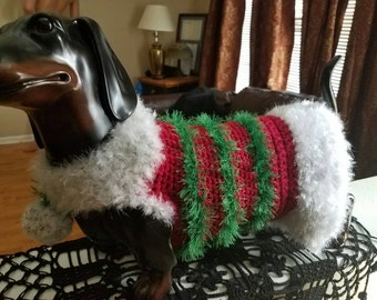 Dachshund Hollidays sweater