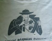 RARE Official Bardahl Detective Vintage 1960's Boy's T-Shirt