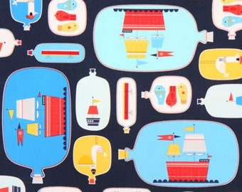 Nautical Crib Sheet or Changing Pad Cover, Baby Boy Crib Bedding, Boat Nursery, Preppy Baby Bedding